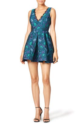 Peony Fringe Dress by Cynthia Rowley