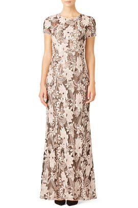 Lace Viera Gown by BCBGMAXAZRIA