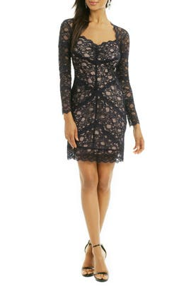 Nicole Miller - Blue Jasmine Dress