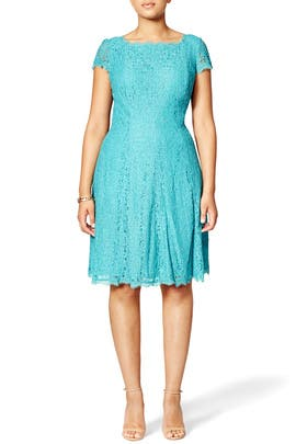 Jade Lace Dress by Adrianna Papell