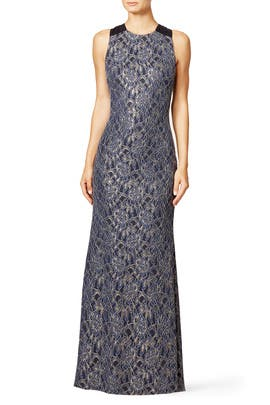 Encrusted Gown by Badgley Mischka