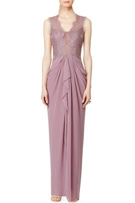 Lavender Brandy Gown by BCBGMAXAZRIA