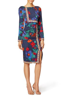 Floral Key Dress by Tracy Reese