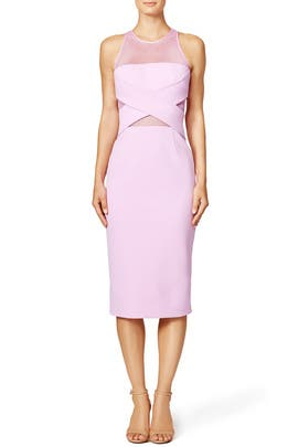 Netted Cross Sheath by Cushnie Et Ochs