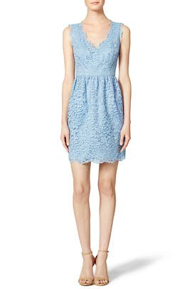 Periwinkle Lace Sierra Dress by Shoshanna