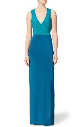Jewel Block Gown by Nicole Miller