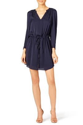 Midnight Shirt Dress by Rebecca Taylor