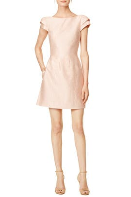 Blush Imprint Dress by Halston Heritage