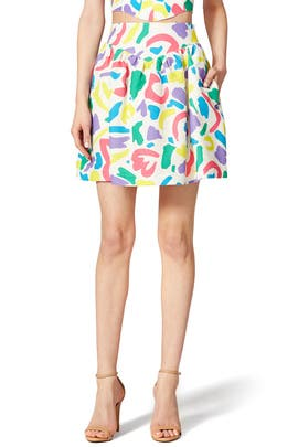 Confetti Skirt by Moschino