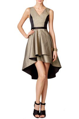 Gold Bar Dress by nha khanh