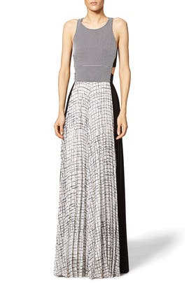 Crew Cutout Maxi Dress by Sachin & Babi