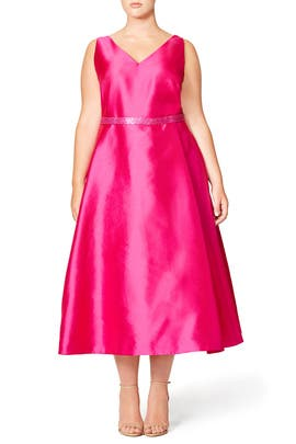 Pure Pink Dress by ML Monique Lhuillier