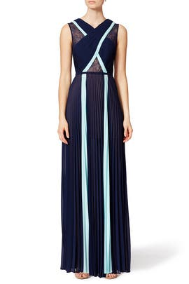 Contrast Caia Gown by BCBGMAXAZRIA