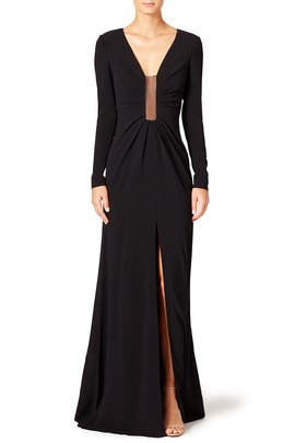 Plunging Gown by Thakoon