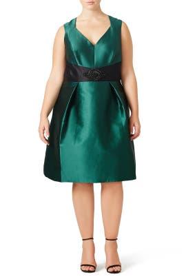 Wintergreen Dress by Theia