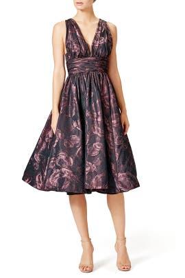 Shirred Frock Dress