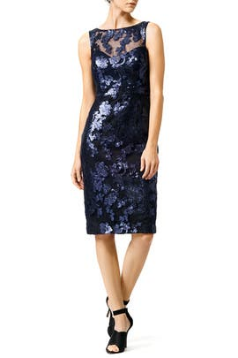 Badgley Mischka - Garden of Sequins Dress