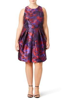 Jocelyn Dress by Carmen Marc Valvo