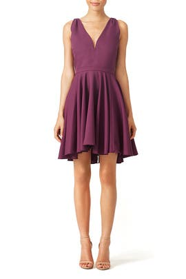 allison parris - Purple Marilyn Dress