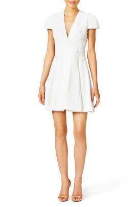 White Vision Dress by Hunter Bell