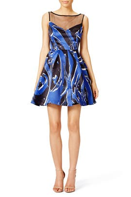 Brushstroke Dress by Parker