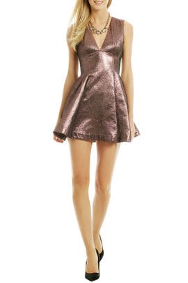 Opening Ceremony - Copper Chemical Element Dress
