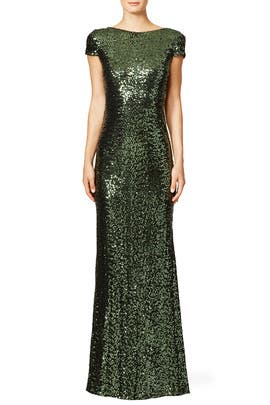 Forest Gown by Badgley Mischka