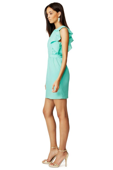 Why Are Shoshanna Dresses So Small In Bust Aquamarine Katrina Dress by