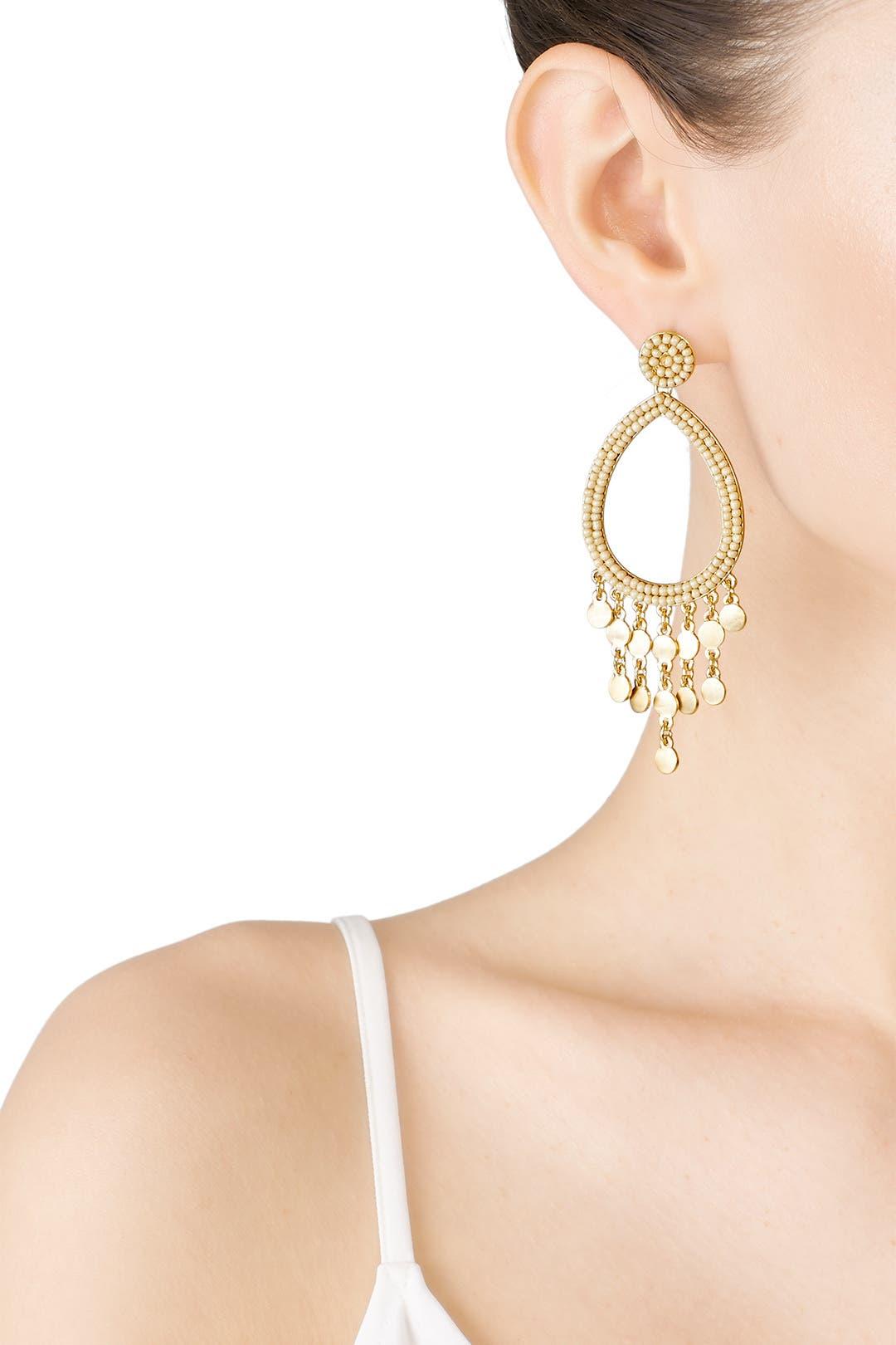 e7621ade3d0bb Rebecca Minkoff Accessories Riley Beaded Drop Earrings