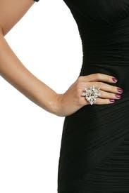 Crystal Navette Bloom Ring by Elizabeth Cole