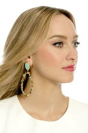 Viridian Collage Drop Earring by Alexis Bittar