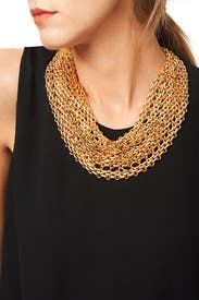 Orbweaver Necklace by Kenneth Jay Lane