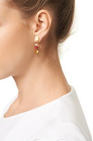 Cherry Pop Earring by Lizzie Fortunato