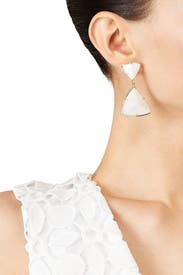 Iridescent Maury Earrings by Kendra Scott