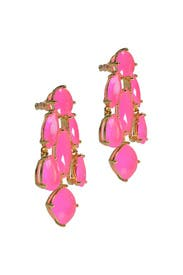 Hot Pink Statement Earrings by kate spade new york accessories