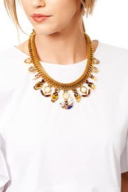 Only in Tokyo Necklace by Lizzie Fortunato