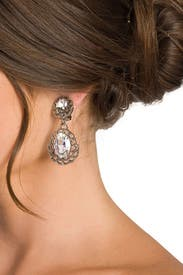 Marry Me Teardrop Earrings by Ciner