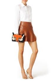 Blaze a Trail Fox Clutch by kate spade new york accessories