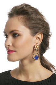 Althea Blue Earring by Lulu Frost