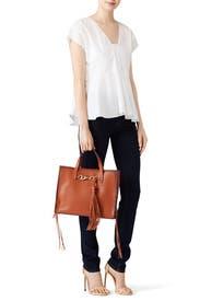 Baked Clay Florence Tote  by Rebecca Minkoff Handbags