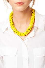 Yellow Rubix Necklace by Slate & Willow Accessories