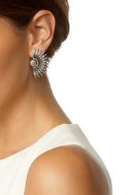 Lulu Frost Beacon Crystal Stud Earrings n2Fl5Z3Tb