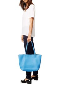 Blue Tori Pebble Tote by Gigi New York