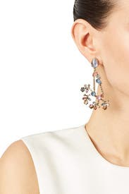 Spring Twig Earrings by Erickson Beamon