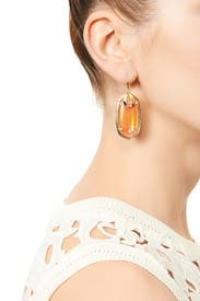Tangerine Porter Earrings by Kendra Scott