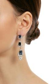 Sapphire Diana Drop Earrings by Ciner