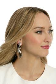 Glass Slipper Earrings by Alexis Bittar