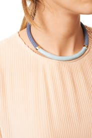 Blue Sky Briar Collar by Orly Genger