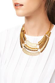 Walk Like an Egyptian Necklace by Slate & Willow Accessories