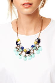 Mint Bauble Necklace by Slate & Willow Accessories